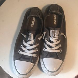 Converse all-star gray sneakers size 8  Women's